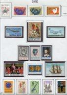 13762 BELGIQUE Collection Vendue Par Page N° 1661 - 1679  **/ *   1973  TB/TTB - Belgium