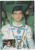 1998 Spazio, Cartolina Maximum Bulgaria - FDC & Commemorrativi