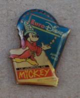 Pin's Disney 005, Euro Disney Euro Disney, Le Journal De Mickey - Disney