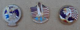 Pin's Espace 001, NASA Navette - Space