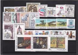 (K 4191) Tschechische Republik, Kpl. Jahrgang 1996** - Czech Republic