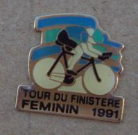 Pin's Sport Cyclisme 002, Tour Du Finistere Féminin 1991 - Cycling