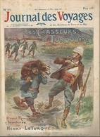Journal Des Voyages , 23-5-1909, N° 651 , LES CHASSEURS DE TURQUOISES ,par H. Leturque , Frais Fr 2.25 E - Journaux - Quotidiens
