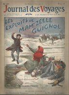 Revue , JOURNAL DES VOYAGES & Des Aventures De Terre Et De Mer, N° 653 , 6 Juin 1909, Mam'zelle Guignol, Frais Fr 1.95 E - Journaux - Quotidiens