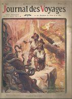 Revue , JOURNAL DES VOYAGES & Des Aventures De Terre Et De Mer, N° 690 , 20 Février 1910, Serpents,  Frais Fr1.95 E - Journaux - Quotidiens