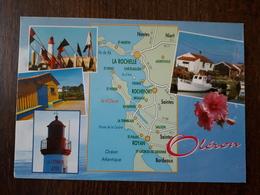 L22/293  Ile D'Oléron - Multivues - Carte Géographique - Ile D'Oléron
