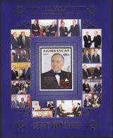 Azerbaijan 550 - President Heydar Aliyev 2003 M/S - MNH - Azerbaijan
