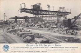 619 Soignies Carrieres Chantier De Debit Des Pierres Brutes - Soignies