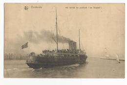 "Oostende Het Vertrek Der Postboot ""Jan Breydel"" PK Ostende CPA La Malle - Oostende"
