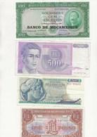 LOT DE 7 BILLETS DIVERS  -TRES BON ETAT - Bankbiljetten