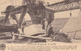 619 Soignies Carrieres Chantier De Pierres De Taille - Soignies
