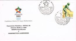 33442. Carta Exposicion ALMERIA 2005. Juegos Mediterraneos - 1931-Hoy: 2ª República - ... Juan Carlos I