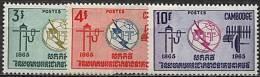 Cambodge, N° 161 à N° 163** Y Et T - Cambodia