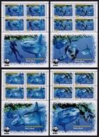 (004) Penrhyn  WWF / Fish Sheetlets / Feuillets Poissons / KB Fische   ** / Mnh  Michel BL 605-08 KB - Penrhyn