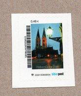 """BRD - Privatpost- Biberpost - """"Halberstädter Dom """" - 0,48€ - Kirchen U. Kathedralen"""