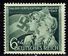 Deutsches Reich - Mi-Nr 843 Postfrisch / MNH ** (B1019) - Germany