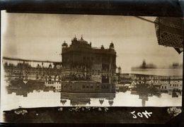 INDE INDIA Golden Temple Amritsar  Harmandir Sahib, Also Known Darbar Sahib, +- 17* 12CMFonds Victor FORBIN (1864-1947) - Lugares