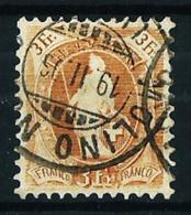 Suiza Nº 80 USADO - 1882-1906 Armarios, Helvetia De Pie & UPU