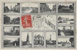 80, Somme, ALBERT, Mulitivues, Scan Recto Verso - Albert
