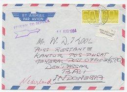 Em. Crouwel Den Haag - Indonesie 1984 - Poste Restante - Period 1891-1948 (Wilhelmina)