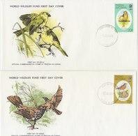 TRISTAN DA CUNHA 1979 FDC (2) WWF With Birds. - FDC