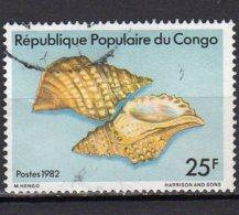 Congo Yvert N° 683C Oblitéré Coquillages  Lot 3-674 - Kongo - Brazzaville