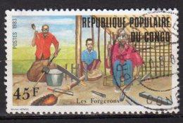 Congo Yvert N° 701 Oblitéré Artisans Forgeron Lot 3-683 - Congo - Brazzaville