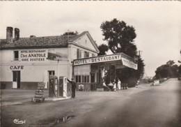 ** 33 **  St VINCENT DE PAUL  Le Relais Routier Chez Anatole Station Service Environs St André De Cubzac - Timbrée TTB - France