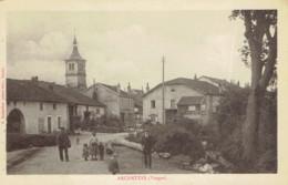 88 Archettes Café Boulangerie  église Animation - Other Municipalities