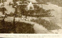 CPA - PARIS - APOTHEOSE DE LA VICTOIRE 14.07.1919 -  PLACE DE LA CONCORDE - MARECHAL PETAIN ET SON ETAT-MAJOR - France