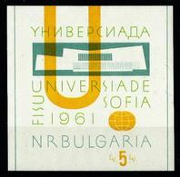 Bulgaria Nº HB-8 Nuevo - Hojas Bloque