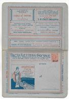 BLP - CARTE-LETTRE PUB NEUVE - SUPERBE ! - 1900-44 Victor Emmanuel III