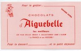 - BUVARD CHOCOLATS D'AIGUEBELLE - La FRANCE Et Son HISTOIRE - - Cocoa & Chocolat