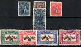 Venezuela Nº 249, 254/57, 224, 226/26A - Venezuela