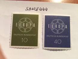 Germany Europa Mnh 1959 - [7] Federal Republic