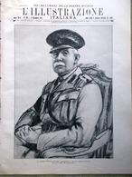 L'Illustrazione Italiana 2 Dicembre 1917 WW1 Fagarè Di Piave Lenin Brenta Gallio - Guerra 1914-18