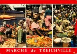 COTE D'IVOIRE   TREICHVILLE Abidjan Fruits Et Legumes Le Marché 31  (scan Recto-verso)MA2008Bis - Côte-d'Ivoire