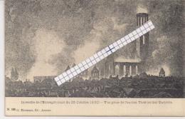 """ANTWERPEN-ANVERS""""INCENDIE DE L'ENTREPOT-VUE PRISE DE L'ANCIEN THEATRE DES VARIETES""""EDIT.HERMANS N°109 - Antwerpen"""