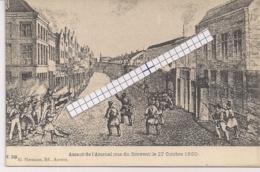"""ANTWERPEN-ANVERS""""ASSAUT DE L'ARSENAL-RUE DU COUVENT-STORMLOOP NAAR HET ARSENAAL-KLOOSTERSTRAAT""""EDIT.HERMANS N°115 - Antwerpen"""