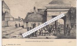 """ANTWERPEN-ANVERS""""PRISE DE LA PORTE ROUGE-INNAME VAN DE RODE POORT""""EDIT.HERMANS N°118 - Antwerpen"""