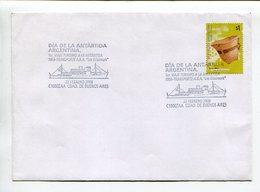 DIA DE LA ANTÁRTIDA ARGENTINA, 1ER. VIAJE TURÍSTICO 1958. ARGENTINA 2008 SOBRE ENVELOPE SPC SPECIAL COVERS  -LILHU - Barcos Polares Y Rompehielos