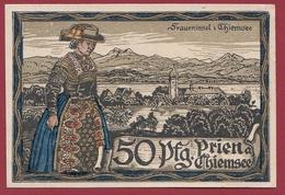 Allemagne 1 Notgeld 50 Pfennig Stadt Prien   (RARE) Dans L 'état N °4236 - Collections