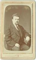 Photo CDV. Foto Froment Tournai. Homme Barbu Identifié. - Anciennes (Av. 1900)