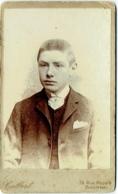 Photo CDV. Foto Colbert, Tournai. Jeune Homme Identifié. - Anciennes (Av. 1900)
