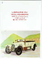 Calendrier. Uccle. Librairie Wolvenberg. Vieille Voiture. 1989. - Calendars