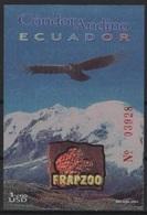 Ecuador (2001) Yv. Bf. 113  /  Aves - Birds - Oiseaux - Vogel - Condor - Oiseaux