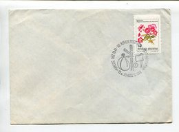 XII ROVER MOOT-USCA. ARGENTINA 1989 SOBRE ENVELOPE SPC SPECIAL COVERS  -LILHU - Movimiento Scout
