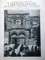L'Illustrazione Italiana 16 Dicembre 1917 WW1 Villari Berretta Presa Gerusalemme - Guerra 1914-18
