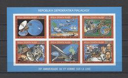 Malagasy Space Apollo Concorde L'espace Weltraum COLL. IMP. MNH - Africa