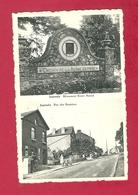 C.P. Jamioulx = Monument CHEMIN  DE LA  REINE  ASTRID  +  Rue  Des  Bruyères - Ham-sur-Heure-Nalinnes